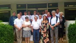 Alcaldes del entorno de la central nuclear de Paks (Hungría) visitan Cofrentes