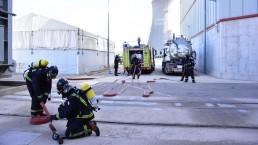 La central nuclear de Cofrentes realiza su simulacro anual de emergencia