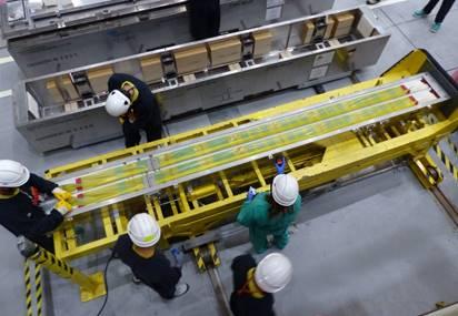 La central nuclear de Cofrentes ya dispone del combustible nuevo para su 22 recarga