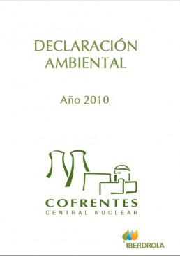 2010 - Declaración ambiental