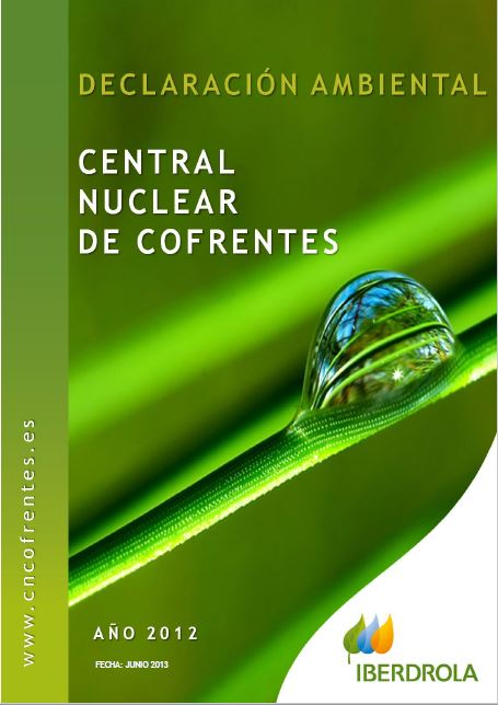 2012 - Declaración ambiental