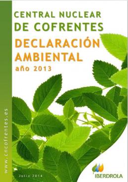 2013 - Declaración ambiental