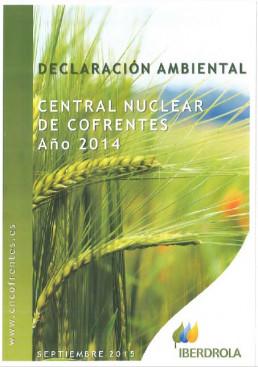 2014 - Declaración ambiental