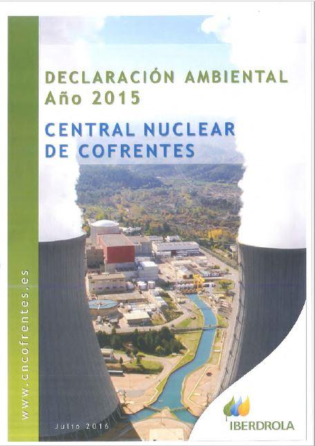 2015 - Declaración ambiental