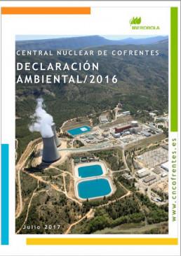 2016 - Declaración ambiental