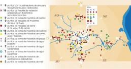 Mapa de la Protección Radiológica en la central nuclear de Cofrentes