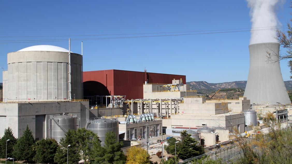 Fotografía panorámica de la central nuclear de Cofrentes