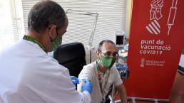 CN Cofrentes comienza a vacunar a sus empleados contra el coronavirus