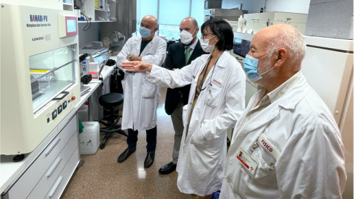 La central nuclear de Cofrentes colabora con el Hospital La Fe de Valencia